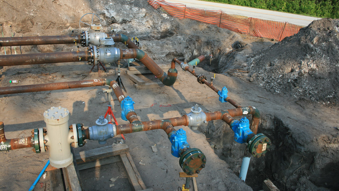 North New Hanover Gas Line Project