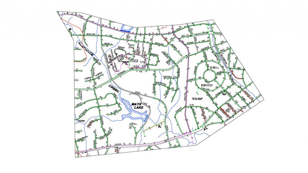GIS Services for Utilities Infrastructure
