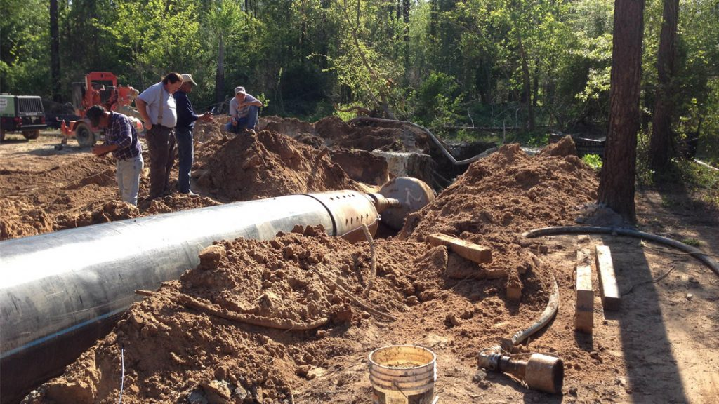 Catawba River Water Main Horizontal Directional Drill