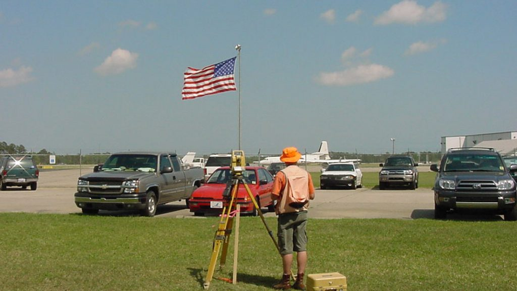Wilmington International Airport General Aviation Apron Rehabilitation Topographic Survey