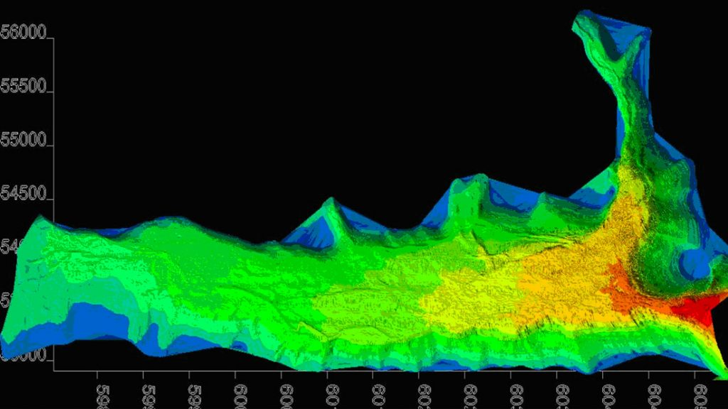 Aquone Lake Hydrographic Multibeam Survey
