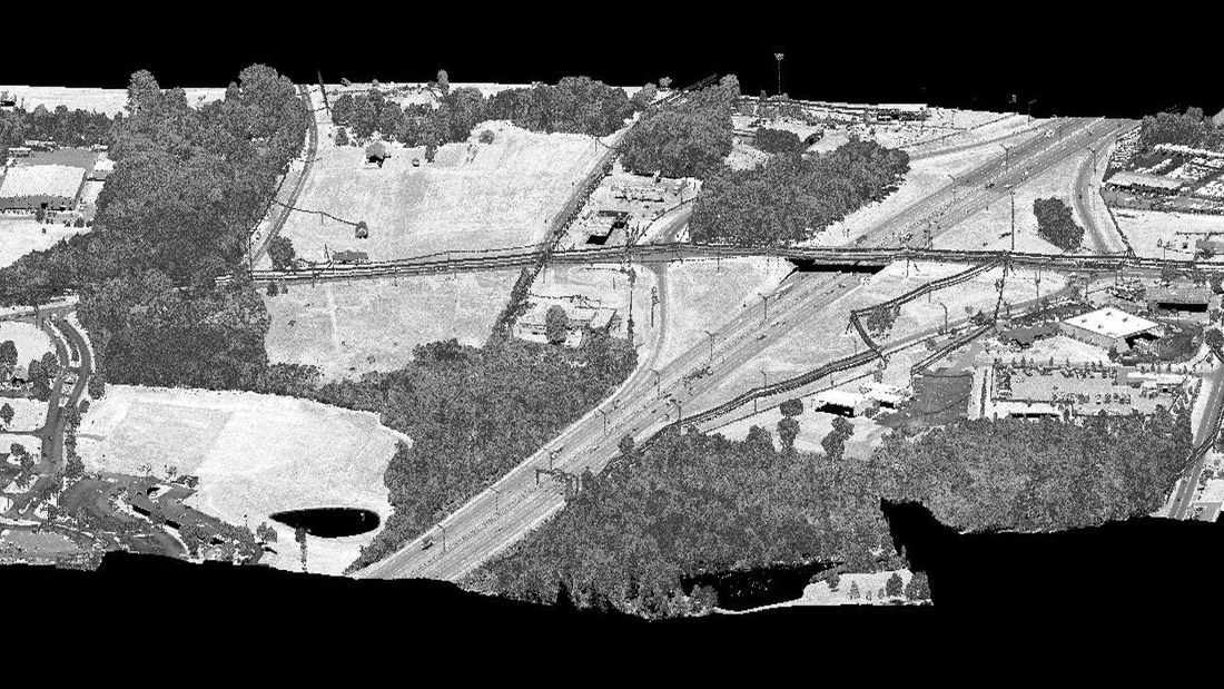 Survey and As-Built Visualization Modeling for Road Widening