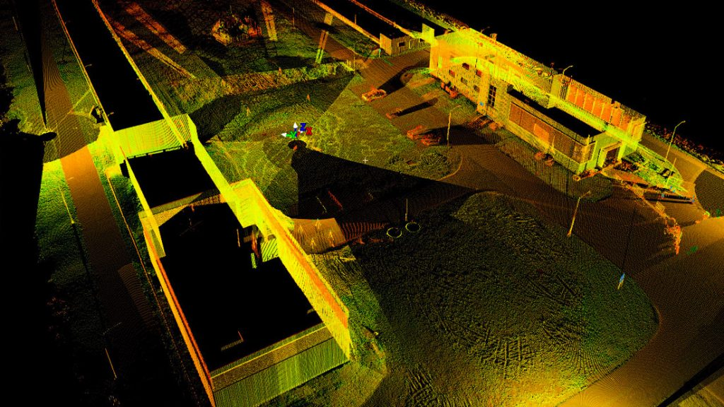 Hampton Road Bridge-Tunnel Laser Scanning