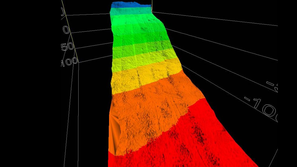 Hydrographic Survey - Lake Champlain Multibeam/ Side Scan Survey