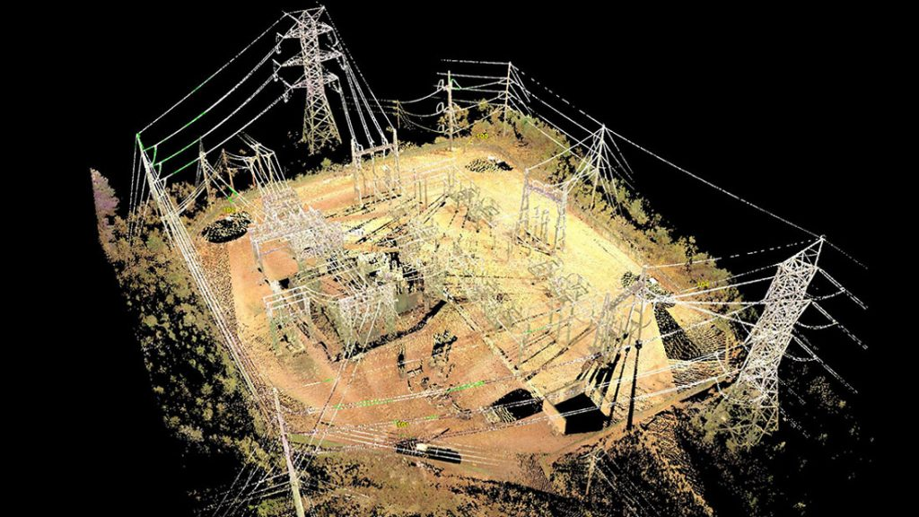 Substation Laser Scanning