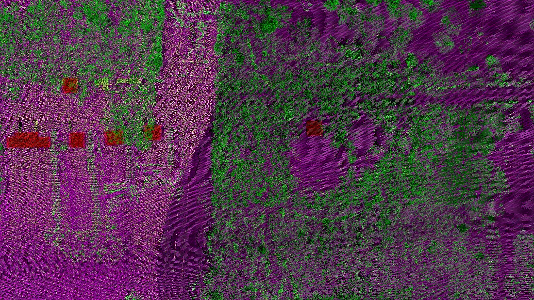 airborne LiDAR data acquisition and mapping