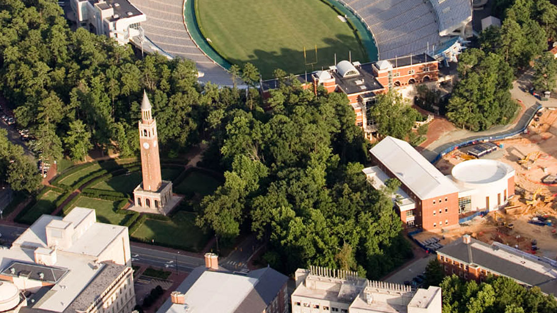 UNC Chapel Hill Main Campus, Bell Tower and Carolina North