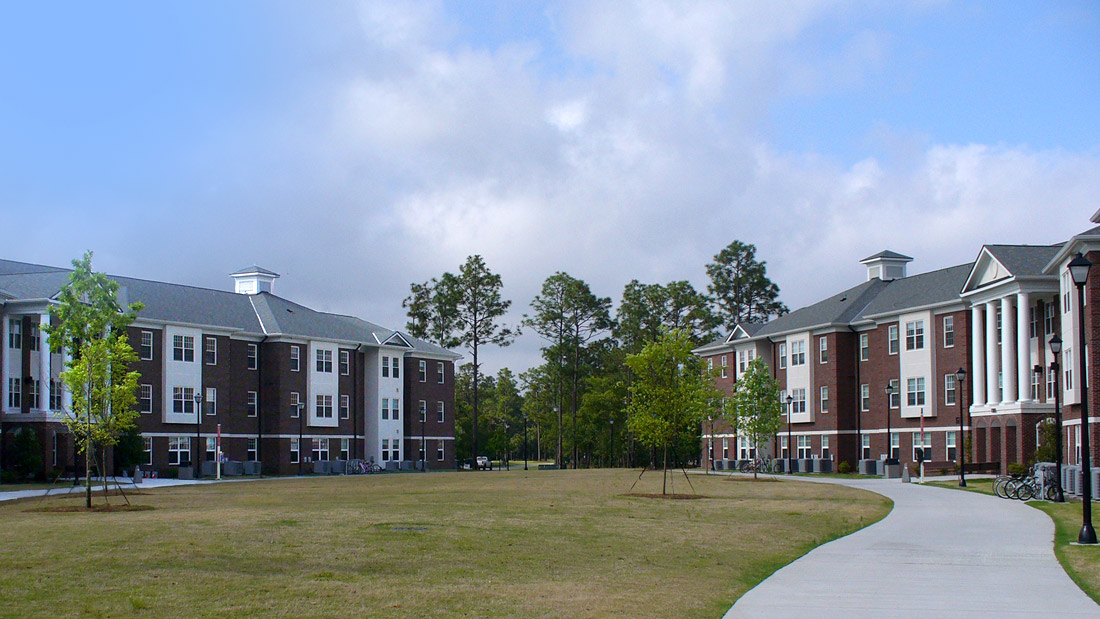 LEED®-Silver-certified student housing