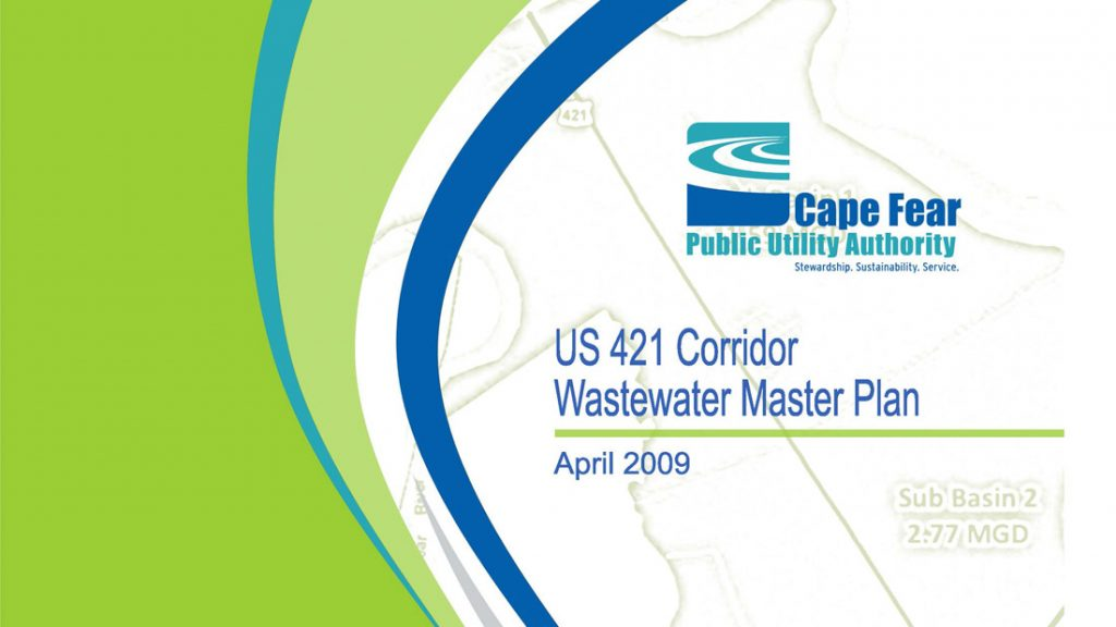 US 421 Wastewater Master Plan