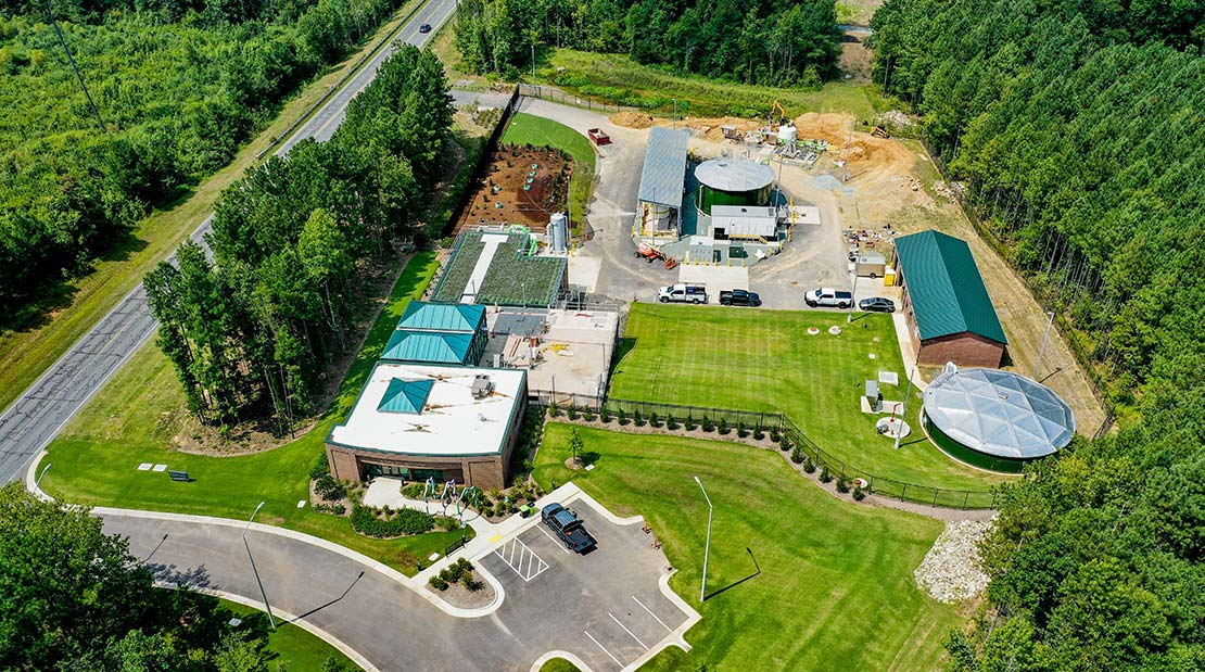 Chatham Park Decentralized Water Recovery Facility supports the initial stages of North Village, part of the $15-billion community of Chatham Park.