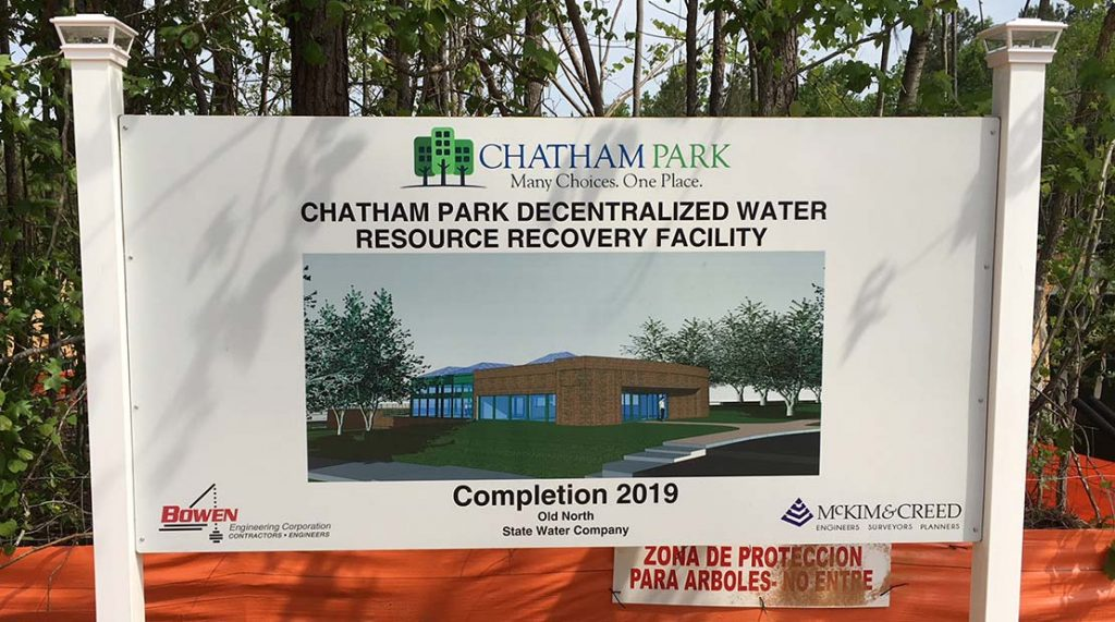 decentralized water resources recovery Chatham Park_2