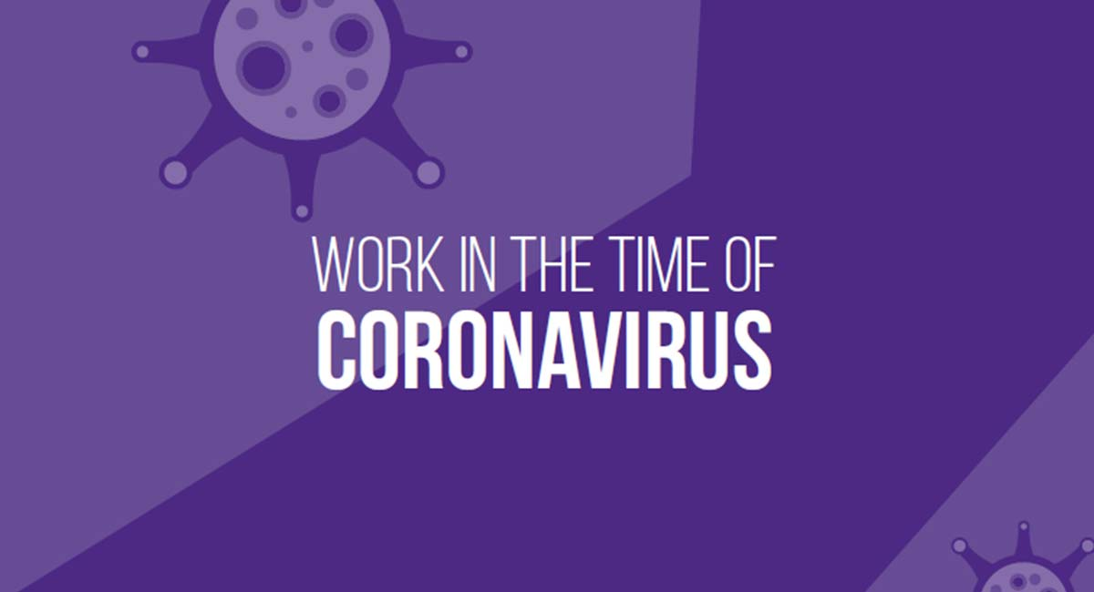 Work in the Time of Coronavirus