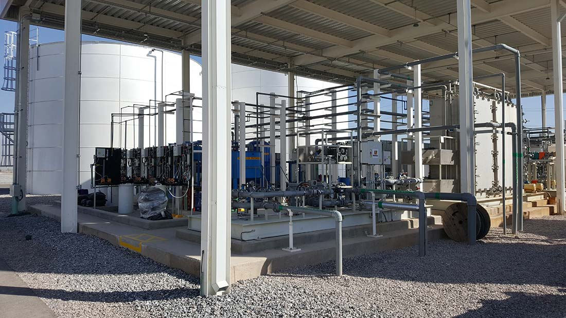 domestic water and industrial wastewater treatment