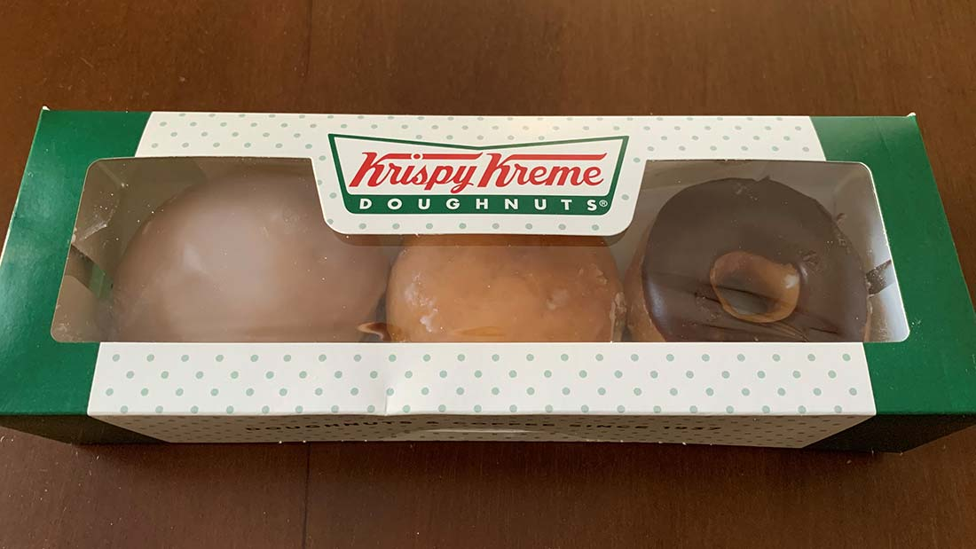 engineering and surveying services for Krispy Kreme