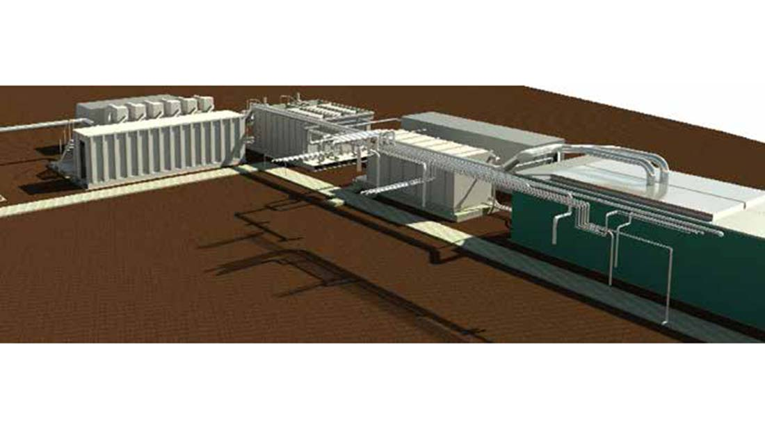produced water treatment plant