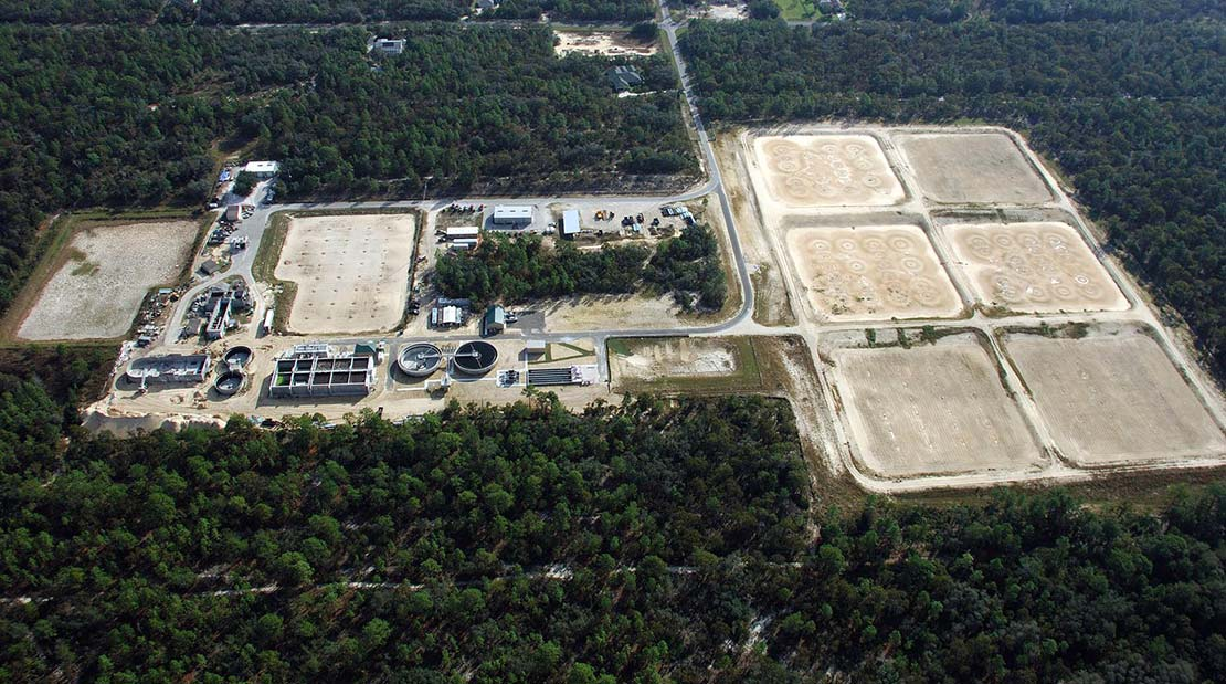 wastewater treatment facility expansion