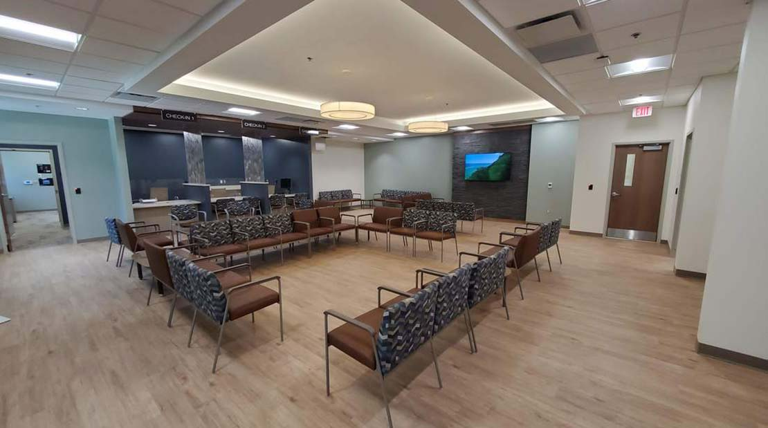 McKim & Creed furnished MEP engineering services for this ambulatory surgical center in Asheville, NC.