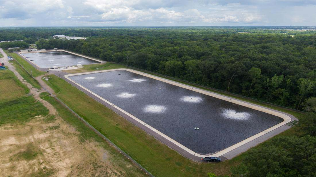 This comprehensive wastewater expansion project includes an environmental enhancement facility, sewer rehabilitation, and inflow/infiltration (I&I) repair.